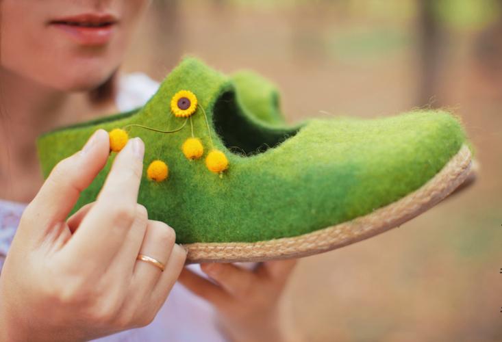 марина климчук, валяные туфли