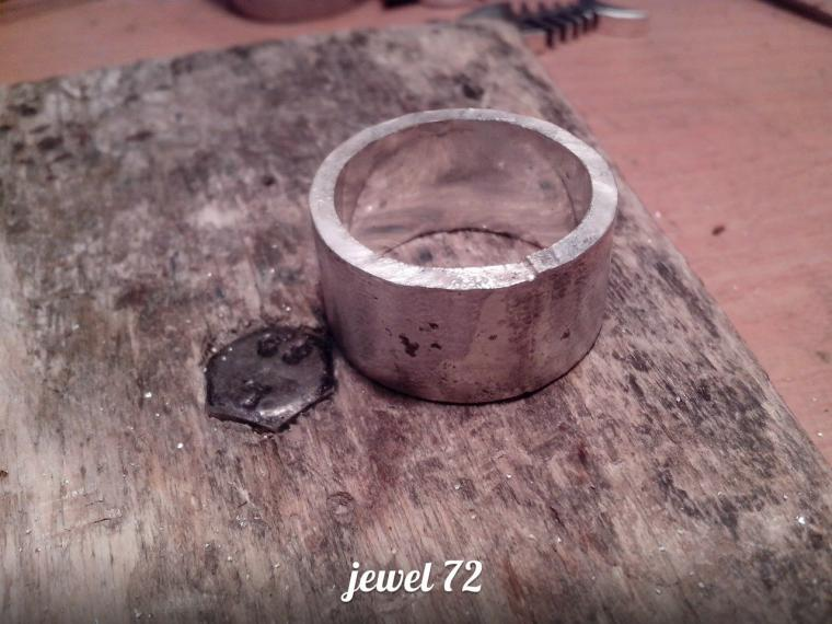 Делаем стильное кольцо из серебра, фото № 11