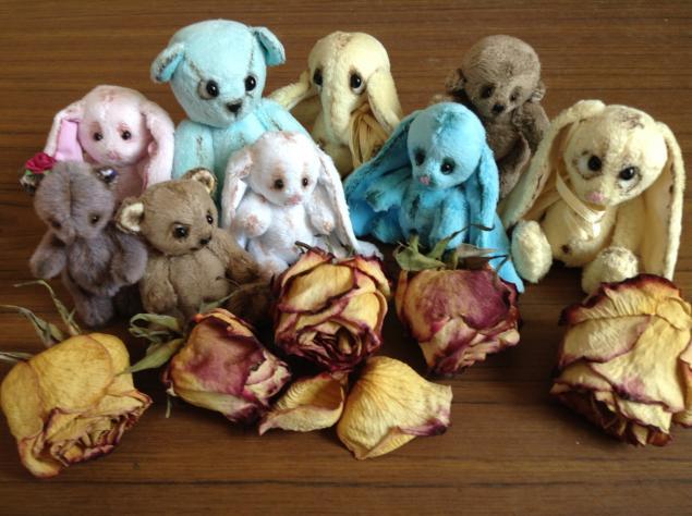 мишки тедди, игрушки ручной работы, слоники, зайки, мягкая игрушка