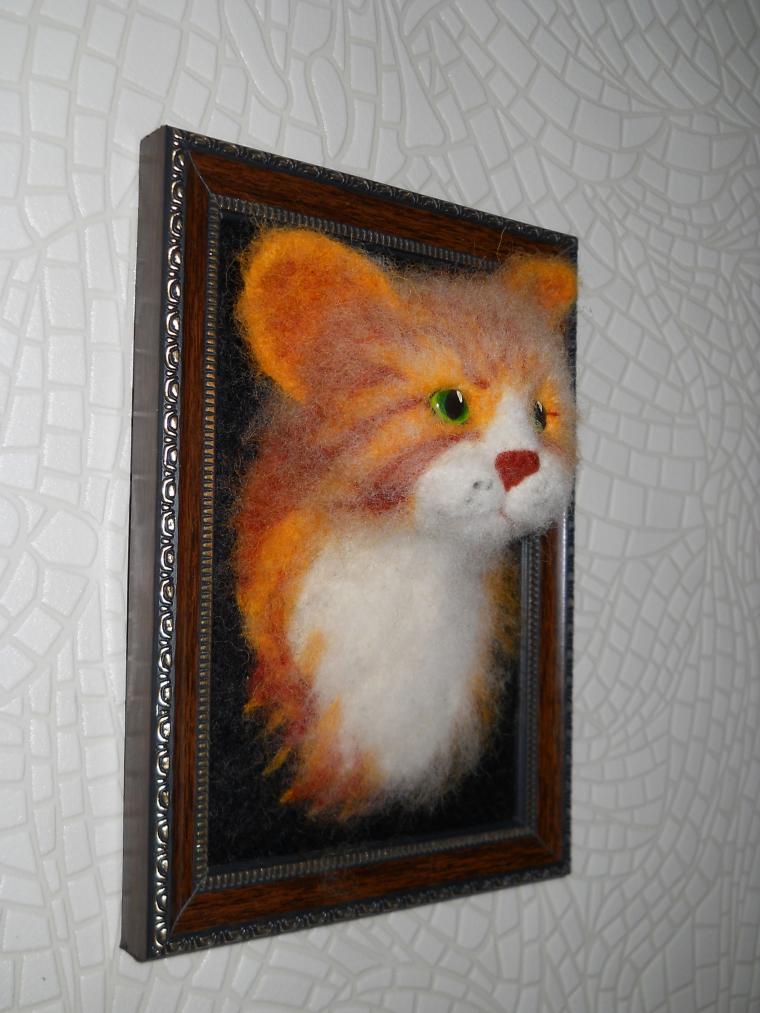 валяные коты