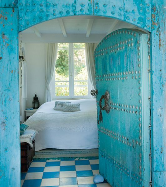 Love the colour, love the door!
