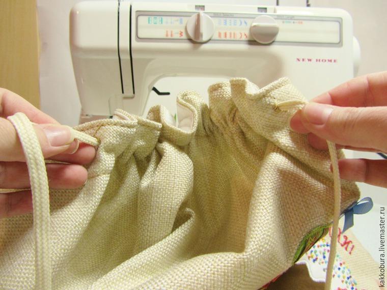 Шьем пасхальную сумку-скатерть, фото № 30
