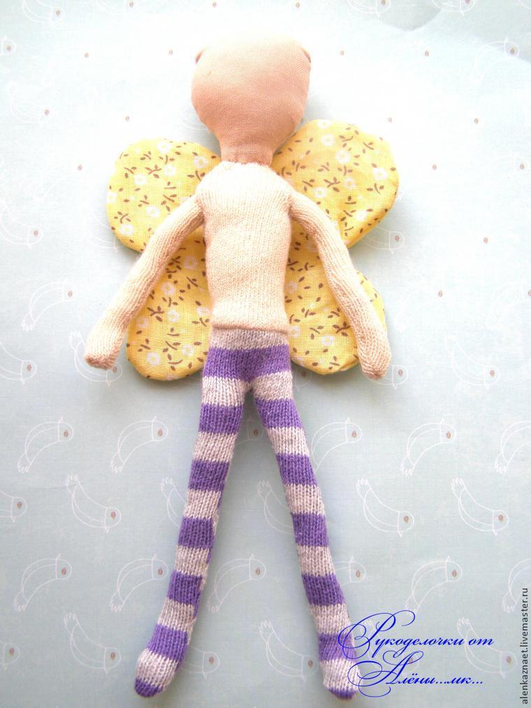Мастерим куклу-подвеску «Бабочка» по мотивам Лалалупси, фото № 24