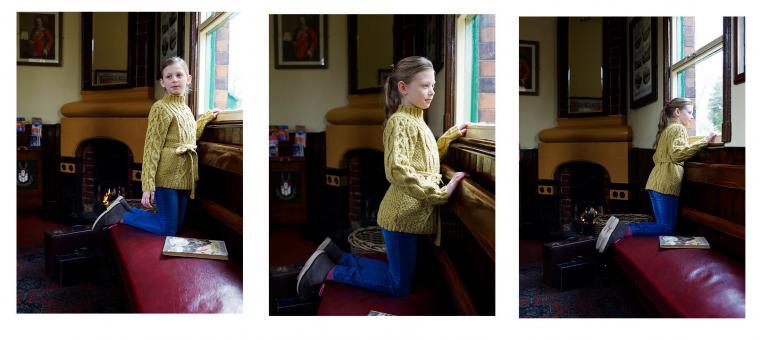 Три возраста твида: вязаные модели на зиму и весну, фото № 40