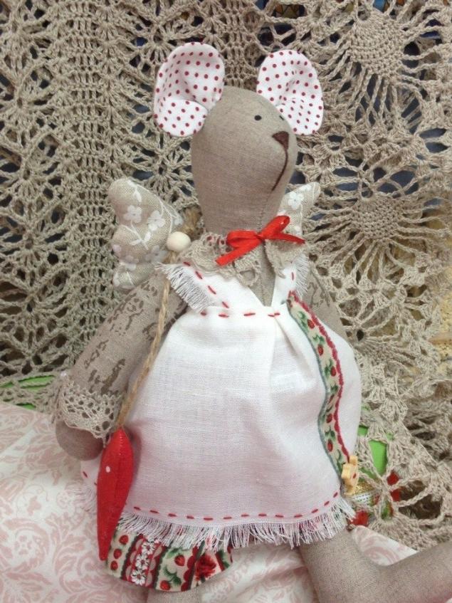 текстильная игрушка, кукла в подарок