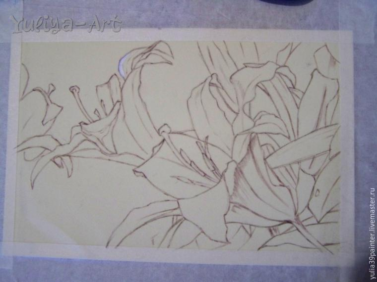 Как рисовать хризантемы маслом