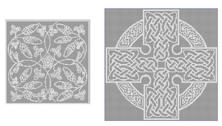 кельтские узоры в работах дизайнеров по текстилю ярмарка мастеров