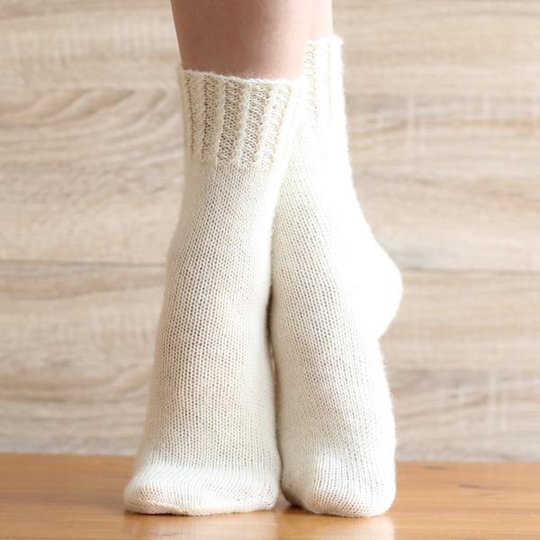 вязаные носочки, влагоотводящий