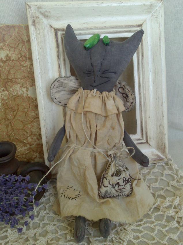 чердачная кукла, коллекционная кукла