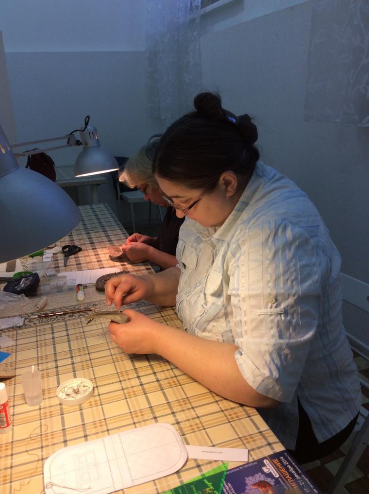 домик, ручная вышивка, аппликация