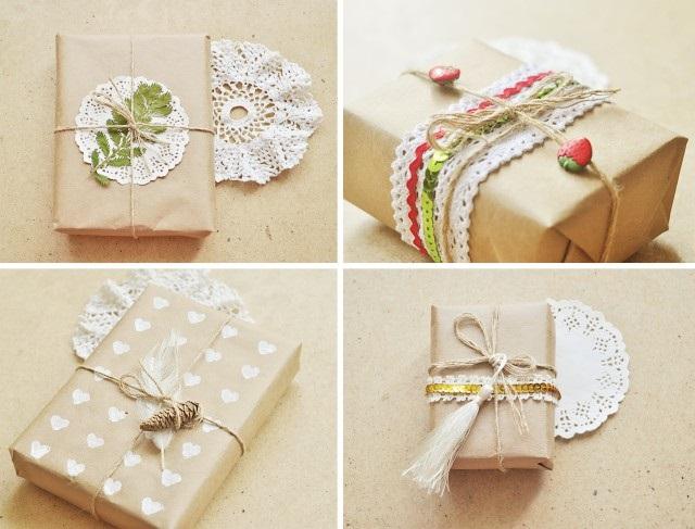 как красиво оформить подарок браслет и фотографии