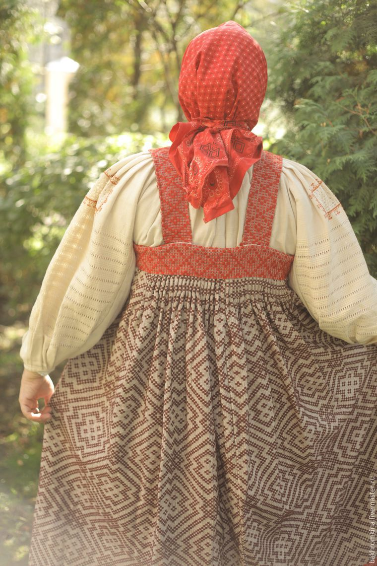 русский стиль, народная традиция