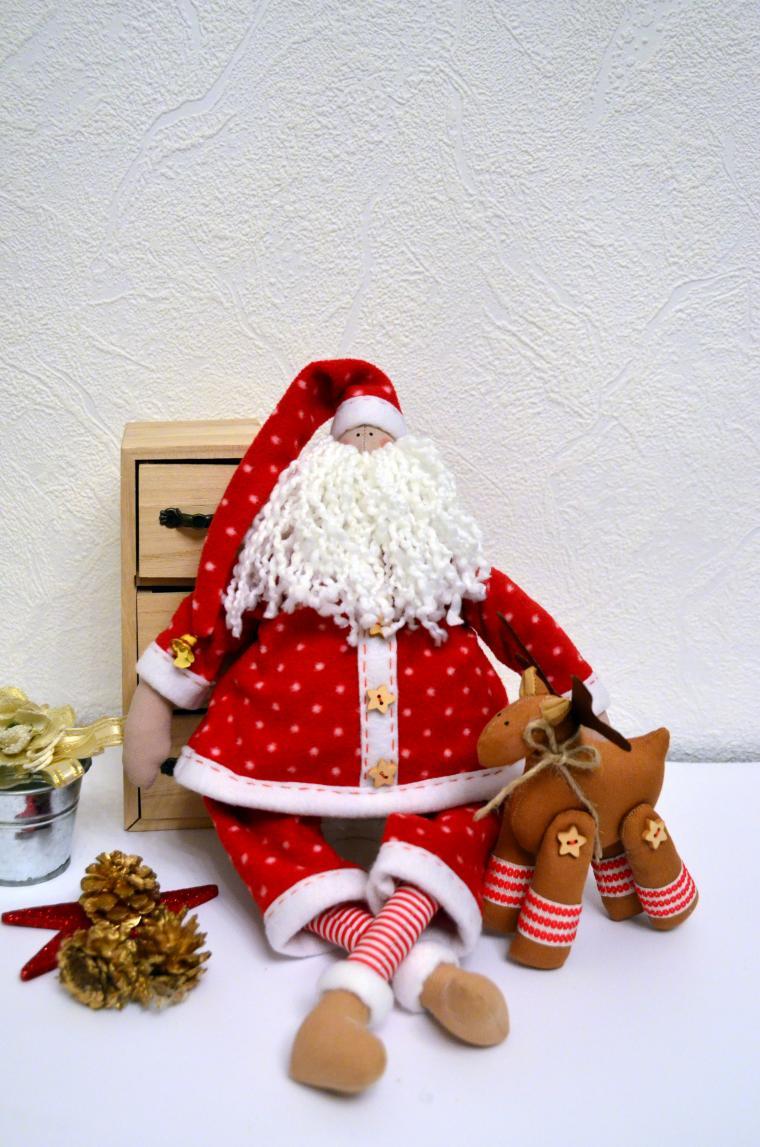 мастер-класс тильда, подарок, санкт-петербург, творчество, хобби, санта клаус тильда