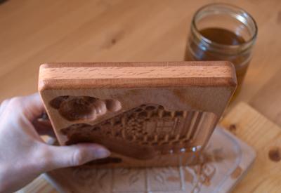льняное масло, пропитка маслом, пряничная форма