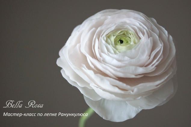 полимерная глина, школа лепки цветов