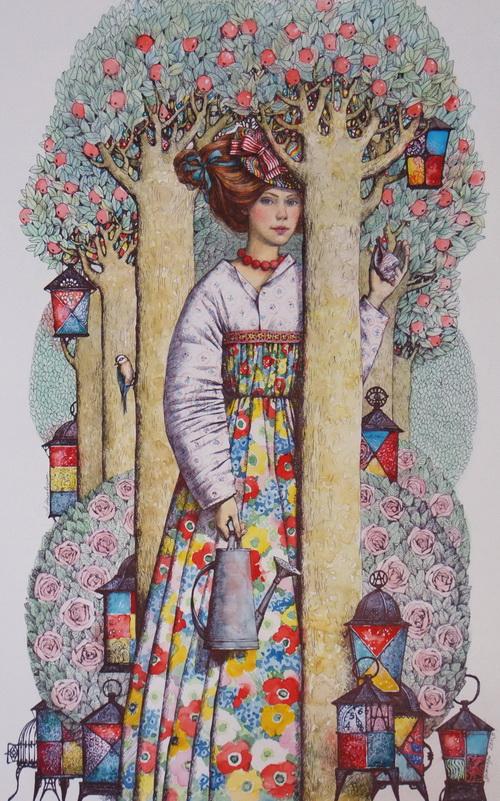 Алена Наливкина и ее сказочные картины, фото № 13