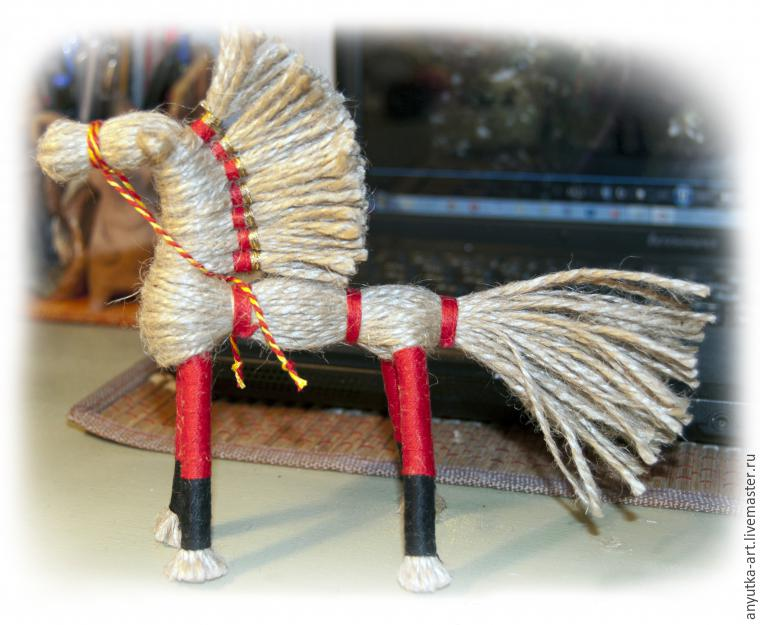 Делаем оберег «Солнечный конь» - Ярмарка Мастеров - ручная работа, handmade