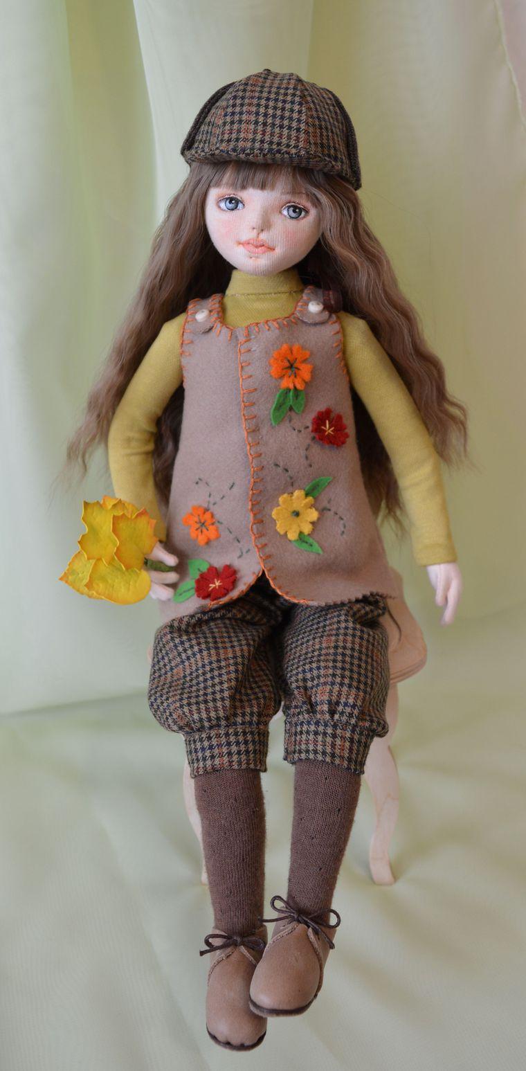 купить куклу, текстильная кукла, подарок на день рождения