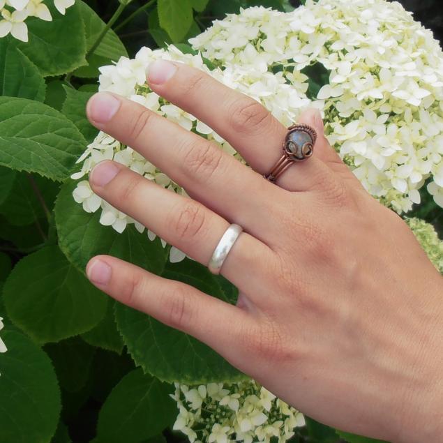 кольца ручной работы