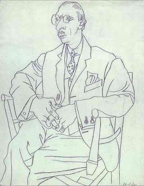 Линейный рисунок художников