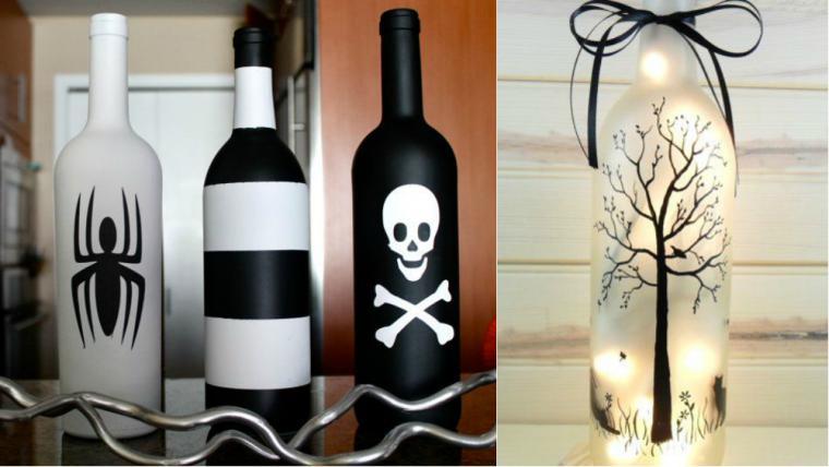 Роспись бутылок: подборка идей - Ярмарка Мастеров - ручная работа, handmade