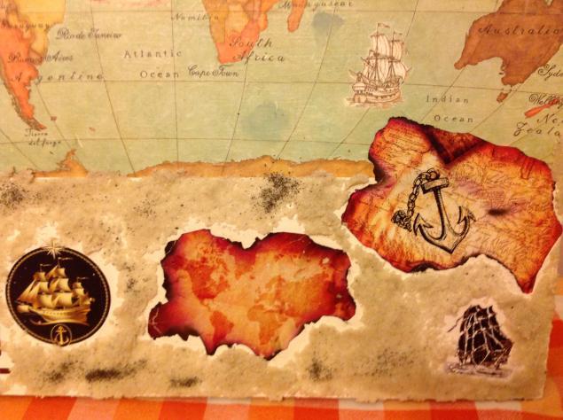 мировая карта, картина, путешествие, страны