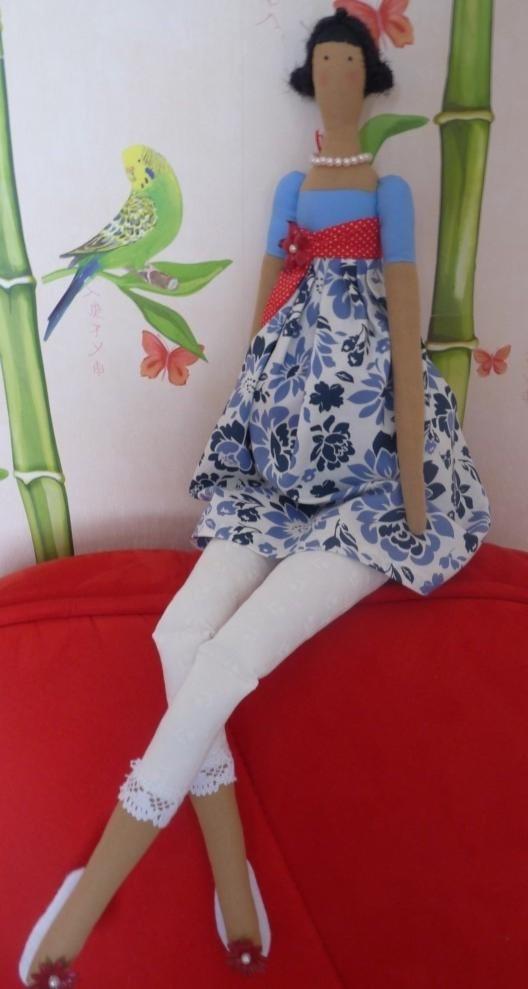 тильда, мастер-класс, кукла тильда, весенний ангел