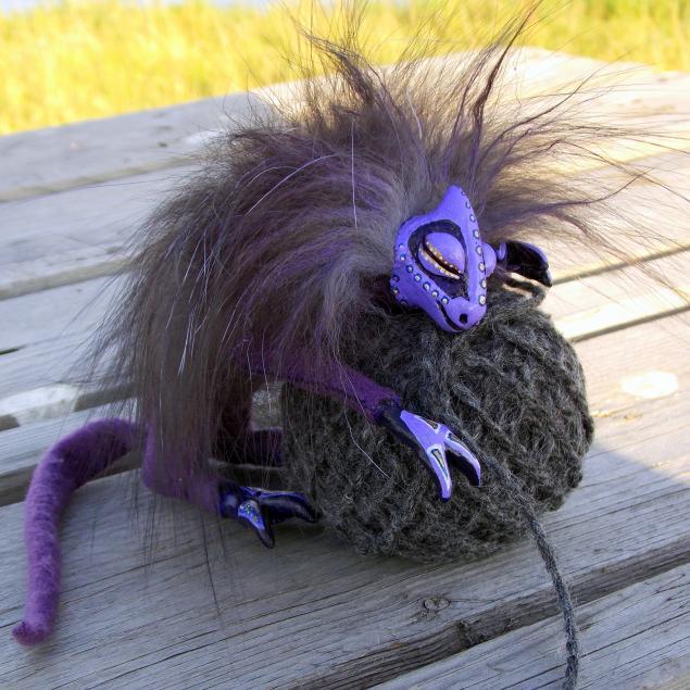 дракончик, сиреневый, фиолетовый, сирень, аромат, саше, игрушка, спящий