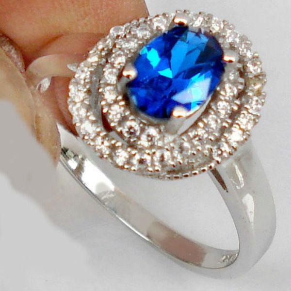 аукцион, кольцо с сапфиром