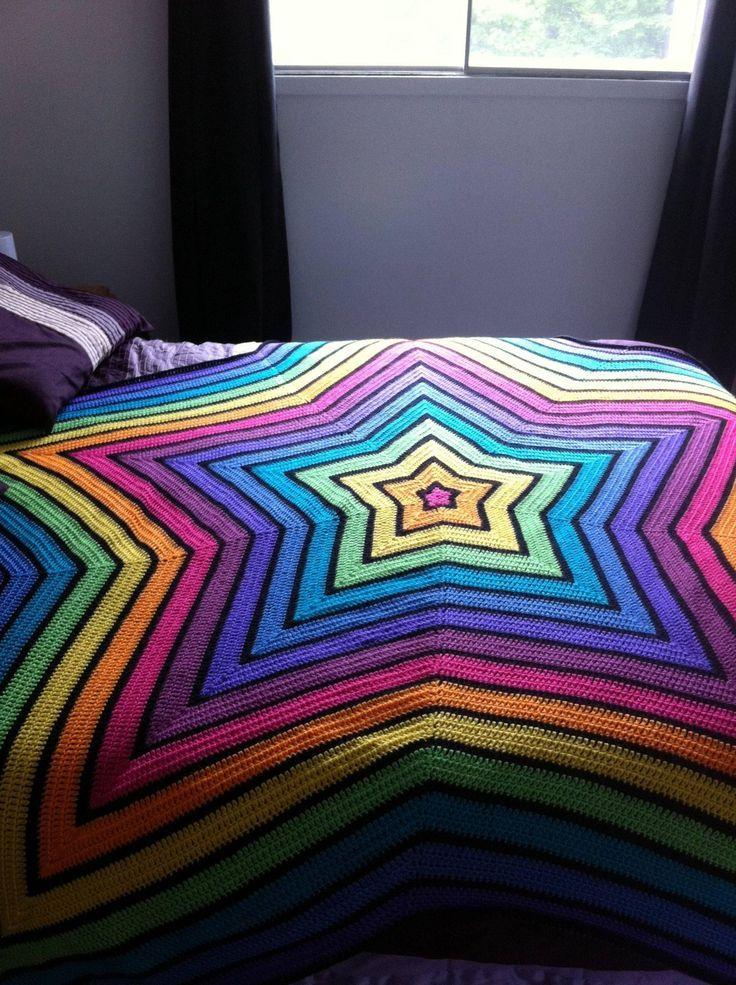 pretty sweet crochet blanket