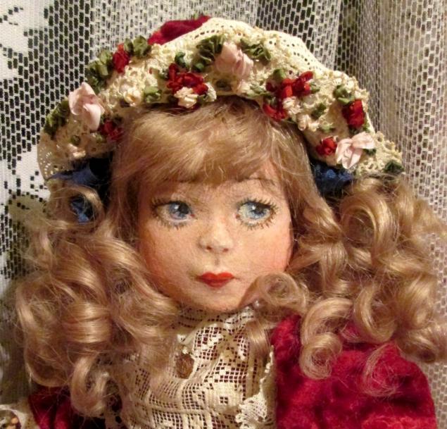 кукла ручной работы, кукла, куклы, кукла в подарок, коллекционная кукла, фетр, антик, смешанная техника, подарок, эксклюзивный подарок, оригинальный подарок, оригинальные подарки, единственный экземпляр