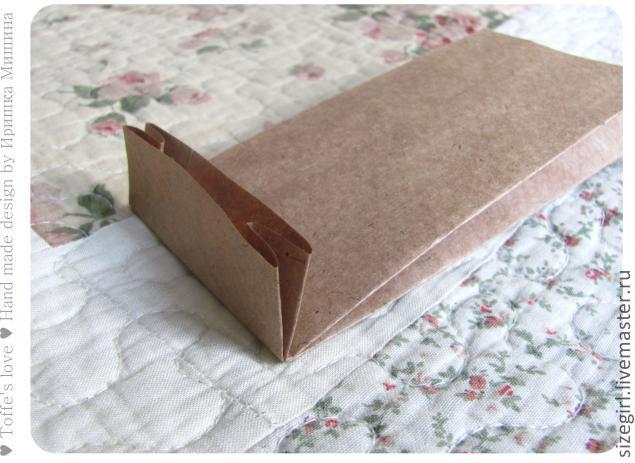 Сделать из бумаги пакет