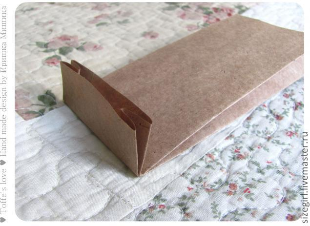 Коробка из крафта своими руками 14