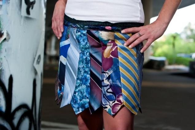 Платье своими руками из галстуков