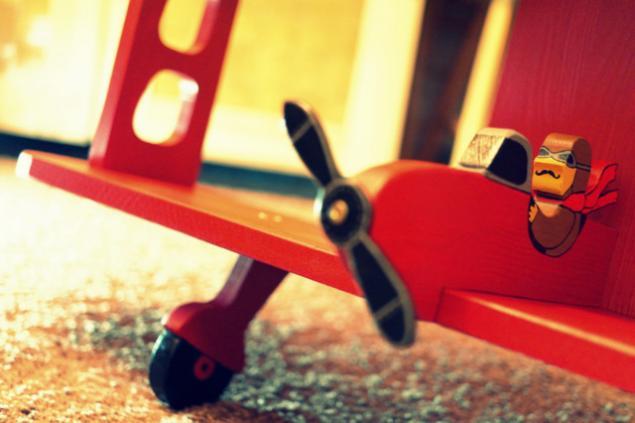 мастер-класс для детей, полочка, самолёт
