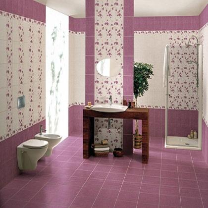 битая плитка, розовая плитка, даром