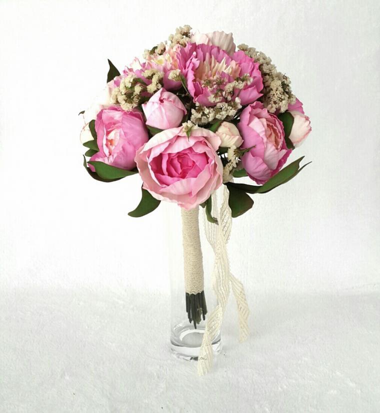 фоамиран, розы