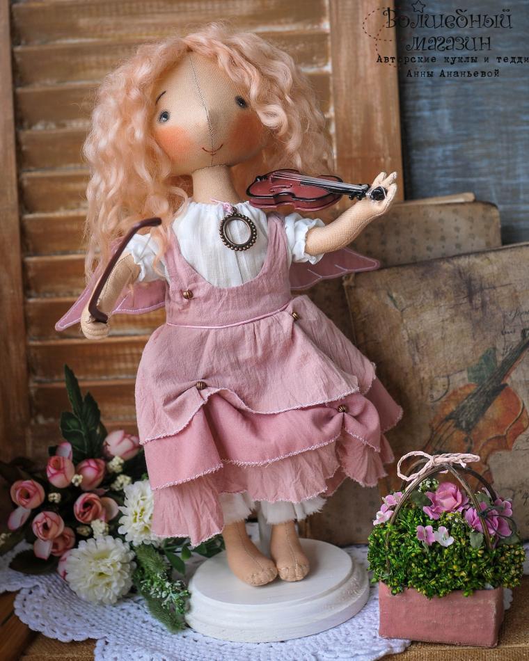 кукла ручной работы, мастер класс, текстильные куклы