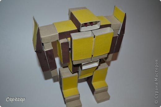 Как из коробки и бумаги сделать трансформера