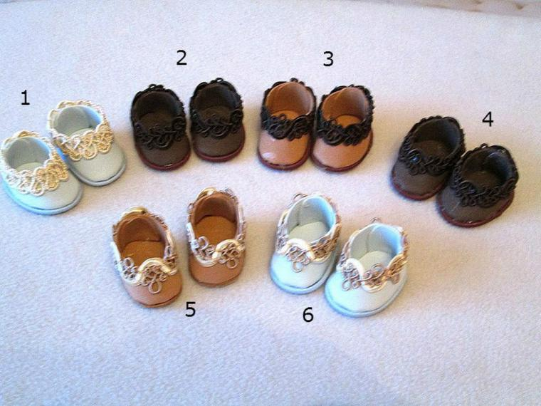 Обувь для кукол из фоамирана своими руками 48
