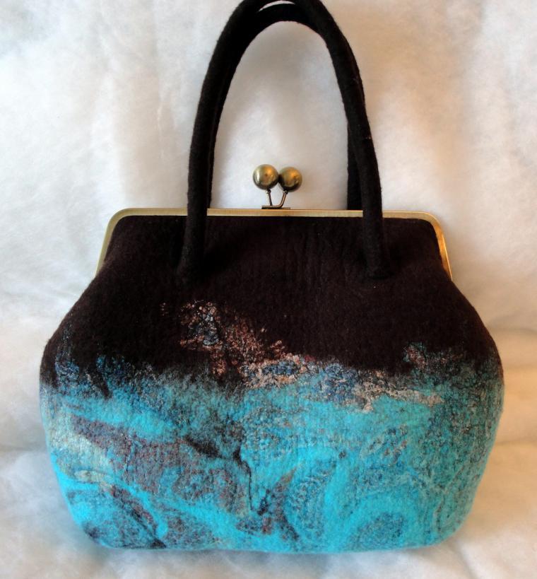 45825400c30b валяние, валяная сумка, мастер-класс по сумке, валяный рюкзак, рюкзак из