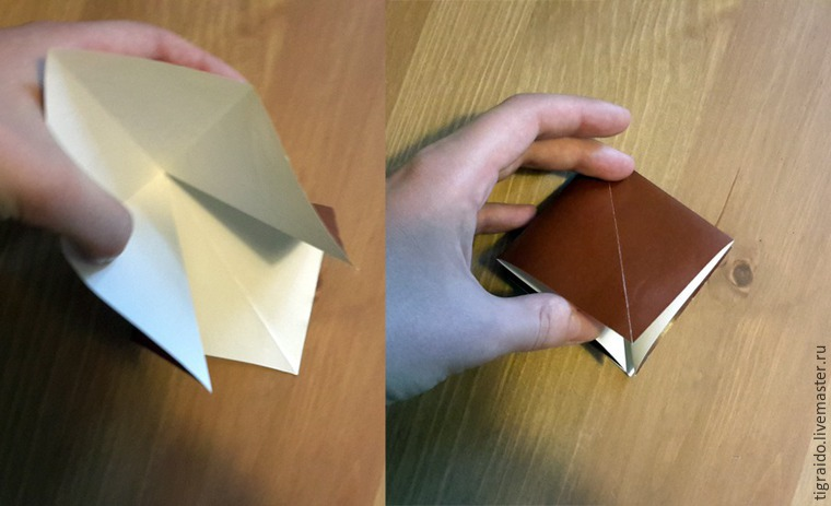Оригами: пасхальная курочка, фото № 4