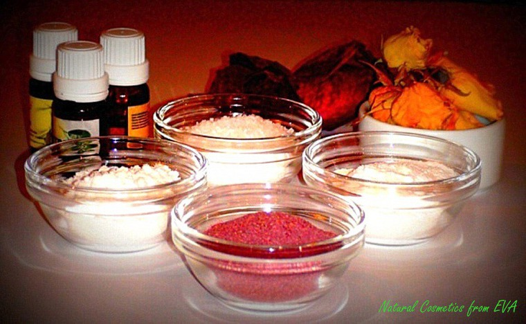 Presents with Your Own Hands: A Pink Aromatherapy Salt Recipe, фото № 1