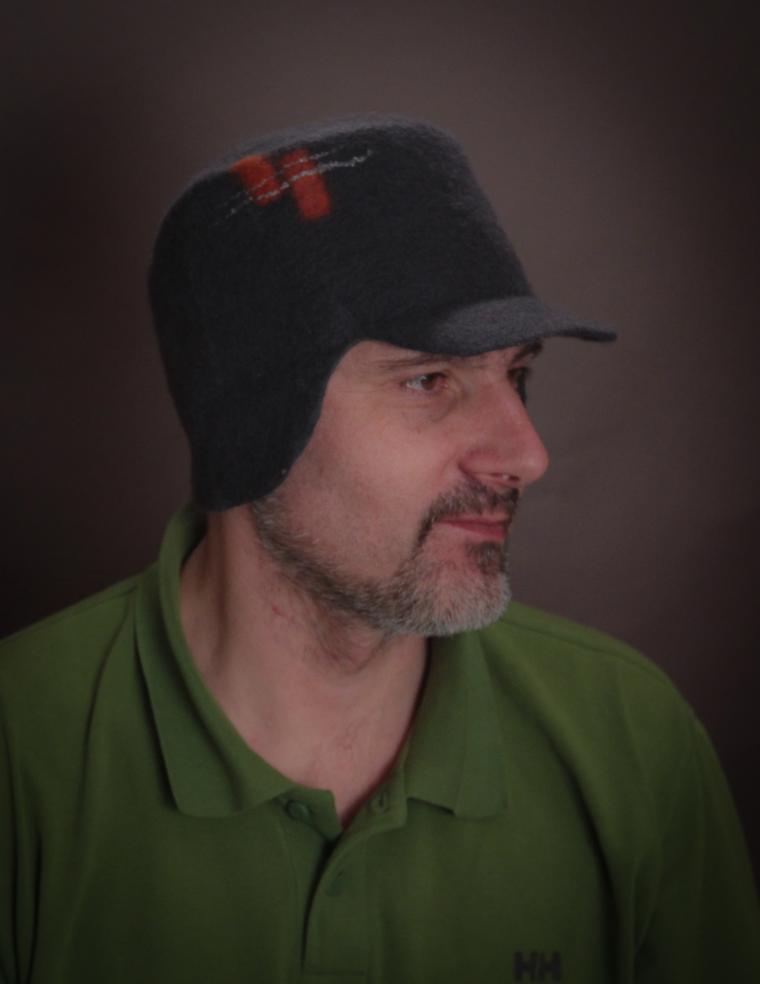 шляпы из шерсти