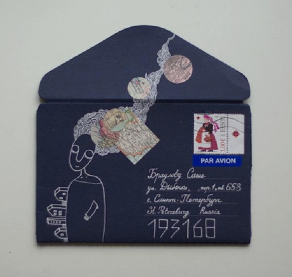 Как послать по почте самодельную открытку