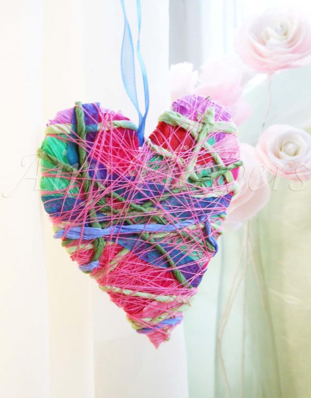 идеи для вдохновения, валентинки, сердце, лоскуты, красиво