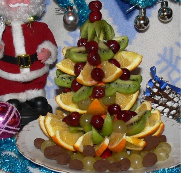 Новогодние украшение блюд своими руками