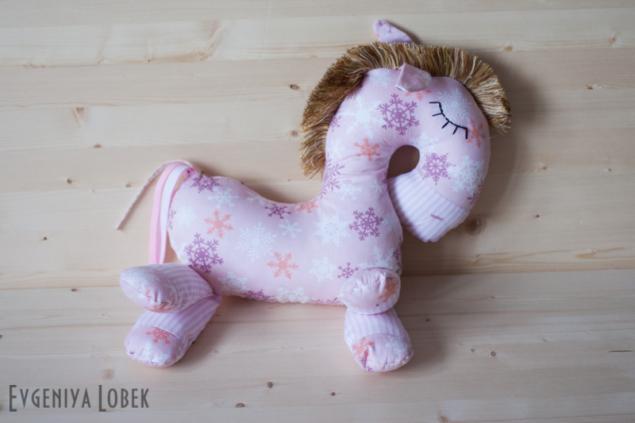 лошадка, интерьерная кукла