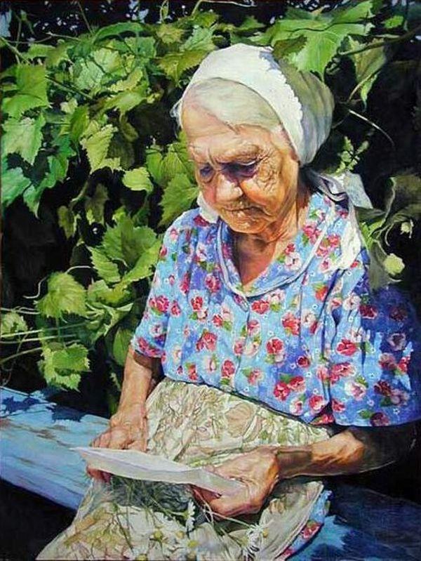 женщина-мать в живописи