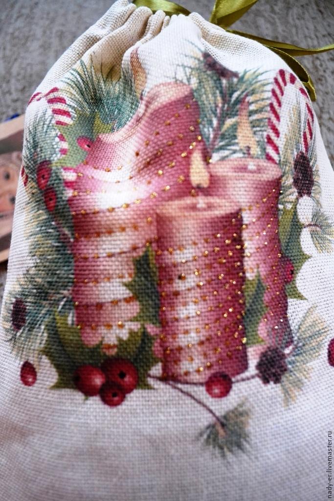 Мешочек для упаковки и хранения Шедевра своими руками, фото № 18